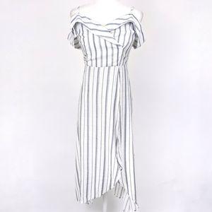 Promesa Off The Shoulder High Low Maxi Dress S